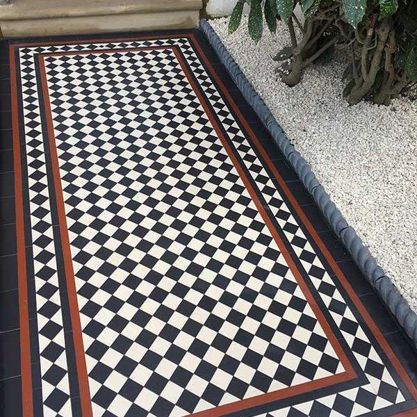Victorian Tiles Victorian Mosaic Tiles Geometric Victorian Tiles