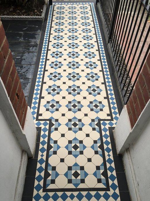 Victorian Mosaic Tiling Victorian Path