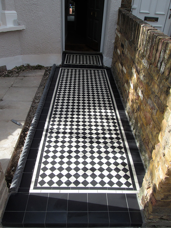 Victorian Pathway Tiles Victorian Tiles London